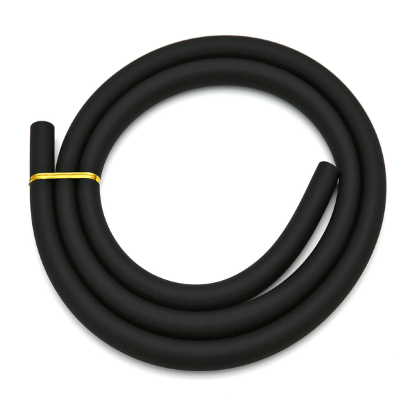 Silicone hose black matt
