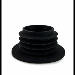 Hookah Mafia Black Glass Grommet
