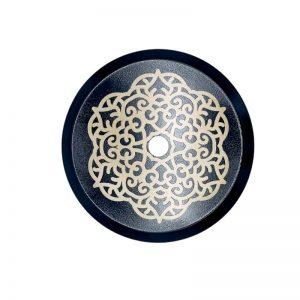Lux hookah plate