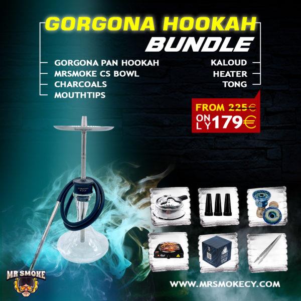 Gorgona Pan Hookah Bundle