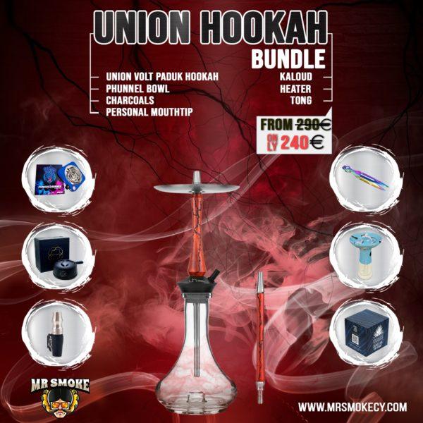 Union Volt Paduk Hookah Bundle