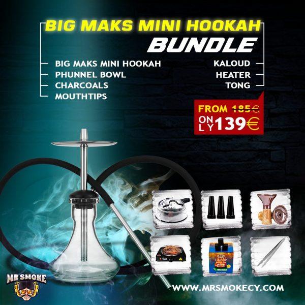 Big Maks Mini Hookah Bundle